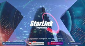 """""""Novo video institucional da StarLink Informática, lançado em 2021, clique para assitir"""""""